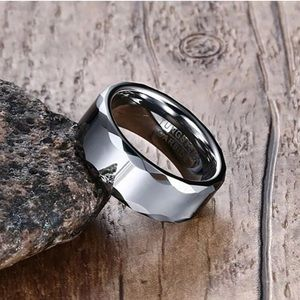 Other - Tungsten Carbide Silver Ring/Band Size: 6